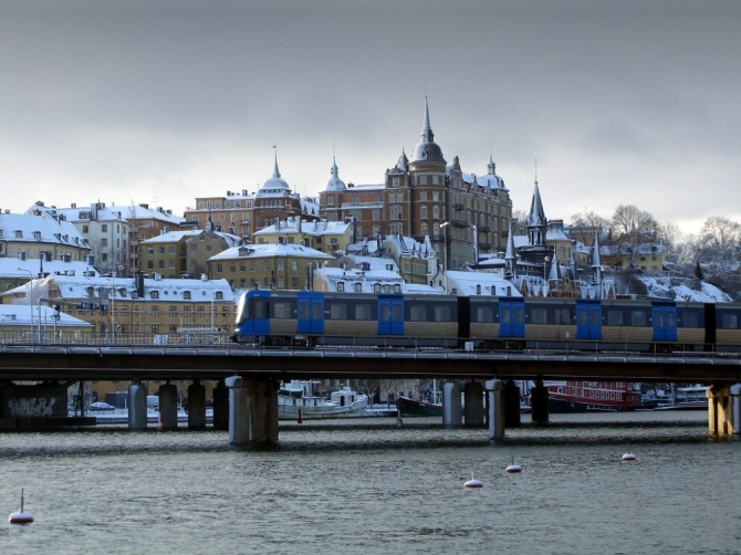 Стокгольм. Швеция